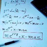 Merry Christmas equation