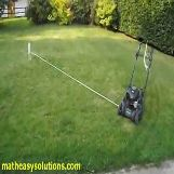 Sweet automatic lawn mower