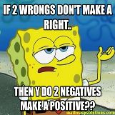 Spongebob knows his math