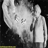 Albert Einstein thinks god does not play dice