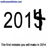 The first mistake of 2014