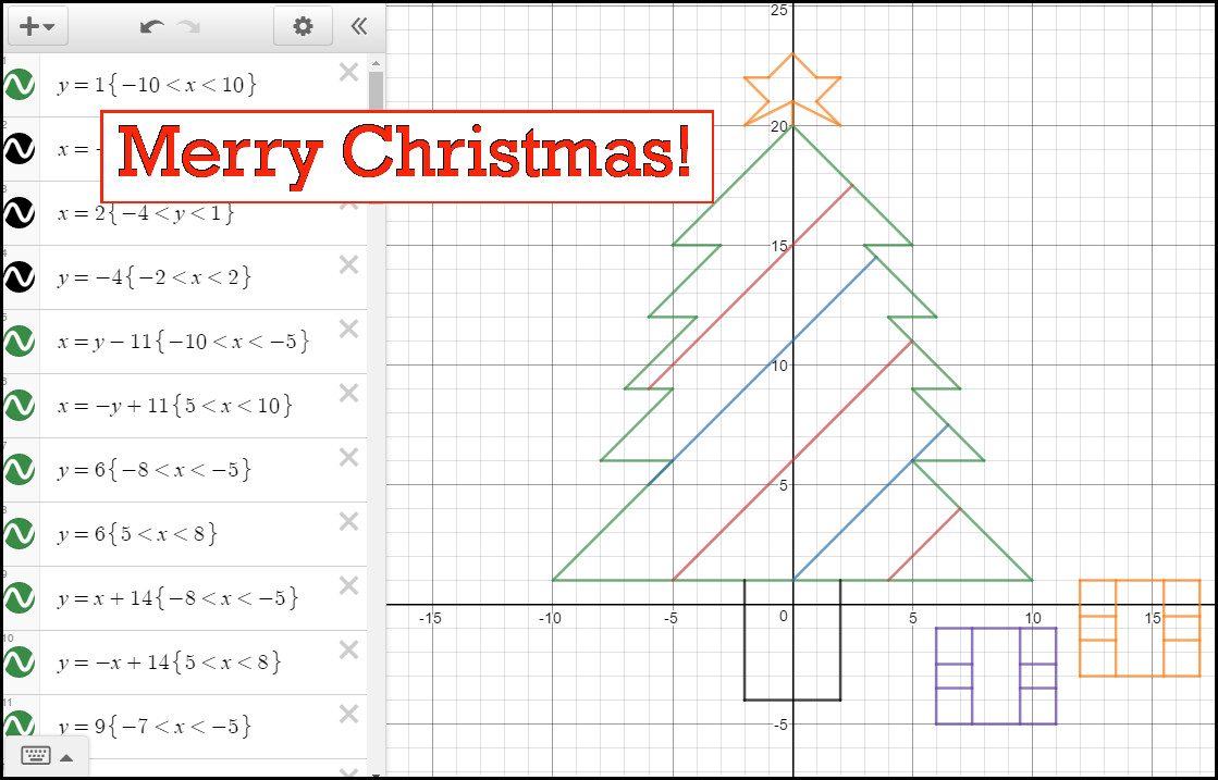 Christmas Tree Graph