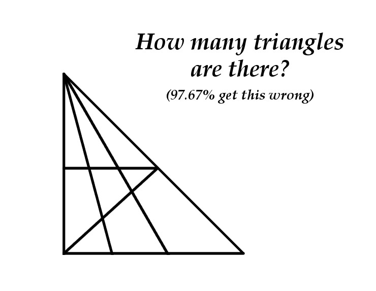 Counting Triangles Puzzle