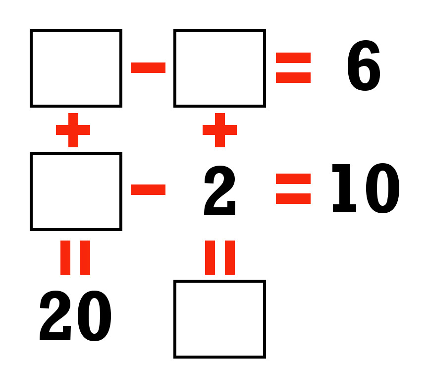 System of Equations Puzzle