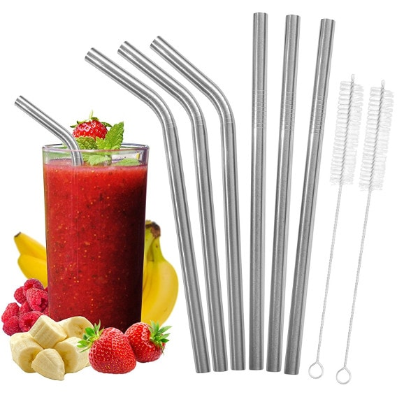 BMI Calculator's Stainless Steel Straws